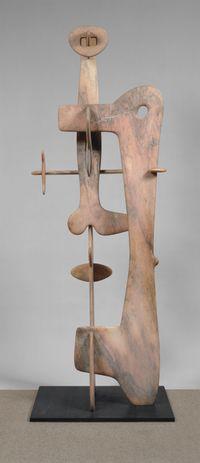 Kouros by Isamu Noguchi contemporary artwork sculpture