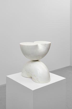 Konstruktion aus einem Kreisring (Construction from a ring) by Max Bill contemporary artwork