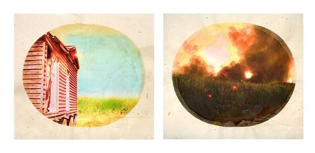 Plantation (Diptych No. 2) by Tracey Moffatt contemporary artwork