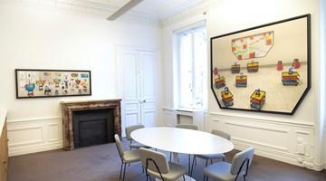 Contemporary art exhibition, David Hockney, New Photographic Drawings at Galerie Lelong & Co. Paris, 13 Rue de Téhéran, Paris