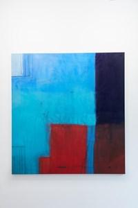 Robin by Karin Lambrecht contemporary artwork mixed media