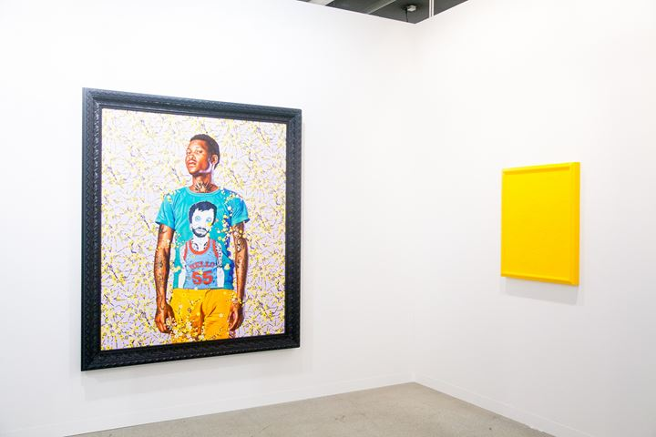 Image: Exhibition view, Stephen Friedman at Art Basel 2016. Photo: © Timothée Chambovet & Ocula.