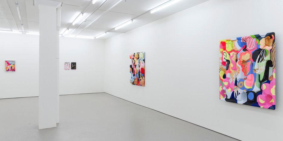 Exhibition view: Miranda Parkes, zoomer, Bartley & Company Art, Wellington (18 March–17 April 2021). Courtesy Bartley & Company Art.
