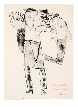 Moucheur by Jean Dubuffet contemporary artwork
