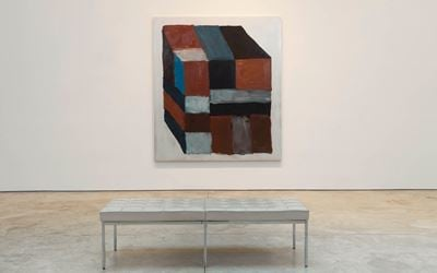 Exhibition view: Sean Scully,Wall of Light Cubed, Cheim & Read, New York (30 March–2 May 2017). Courtesy Cheim & Read.