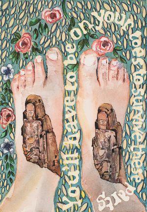 'Feet' by Jade Montserrat contemporary artwork