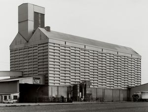 Grain Elevator [Getreideheber], Coolus, Châlons-en-Champagne, F by Bernd & Hilla Becher contemporary artwork