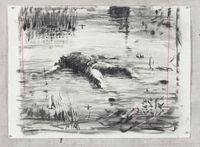 Untitled (Drawing from Wozzeck 17) by William Kentridge contemporary artwork works on paper