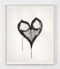 Coeur by Annette Messager contemporary artwork painting, works on paper