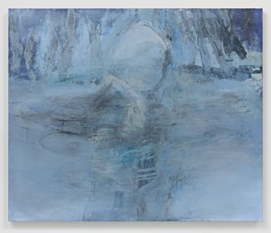 Strokes of Disappearance by Rita Ackermann contemporary artwork