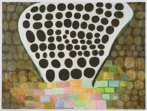 Untitled (L - 60) by Thomas Nozkowski contemporary artwork