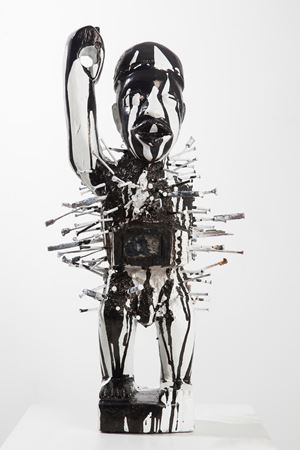 Mutus Liber (Fetish) 7892 by Kendell Geers contemporary artwork