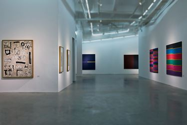 Exhibition view: Group Exhibition, Off the Beaten Track - Revisiting Four Individual Cases of 1990s, A Thousand Plateaus Art Space, Chengdu (25 July–11 October 2015). Courtesy A Thousand Plateaus Art Space.