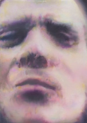Untitled (man looking at me) by Johannes Kahrs contemporary artwork