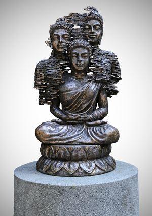 Moksha III by Nyoman Nuarta contemporary artwork