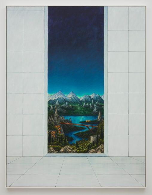 Eastern Window by Alejandro Cardenas contemporary artwork