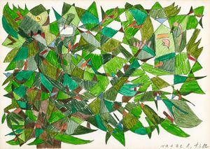 # 217 rauschebaum und zeisigkeit by Tomas Schmit contemporary artwork