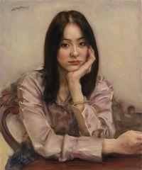 Wan Qiu No.2 婉秋之二 by Pan Maokun contemporary artwork painting