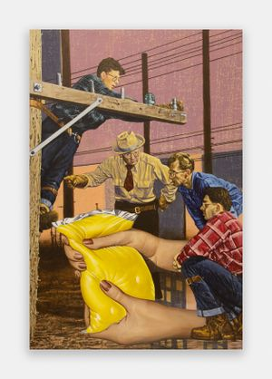 Deposition by Jim Shaw contemporary artwork painting