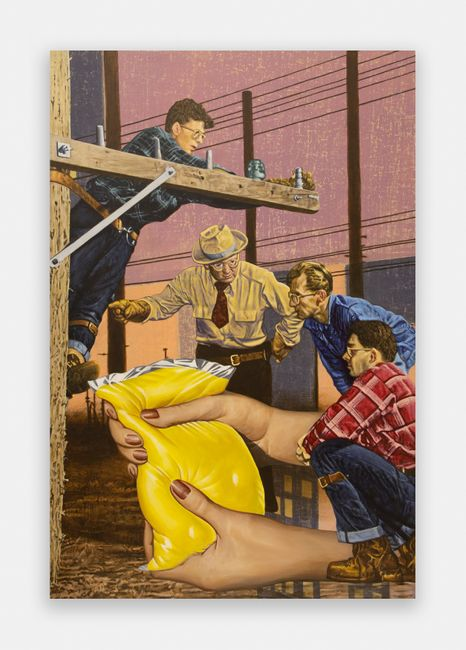 Deposition by Jim Shaw contemporary artwork