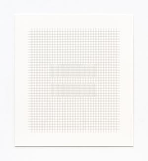 Thread Drawing 2012-20 by Hadi Tabatabai contemporary artwork