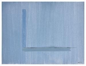 """Impression"", 2009 by Geneviève Asse contemporary artwork"