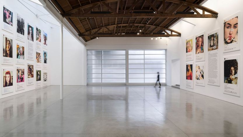 Exhibition view: Richard Prince, New Portraits, Gagosian, Beverly Hills (6 February–27 June 2020). Courtesy Gagosian. Photo: Jeff McLane.