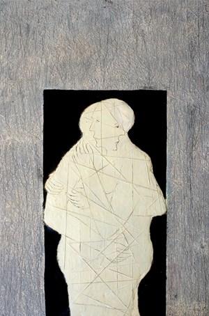 Composition by Mahi Binebine contemporary artwork