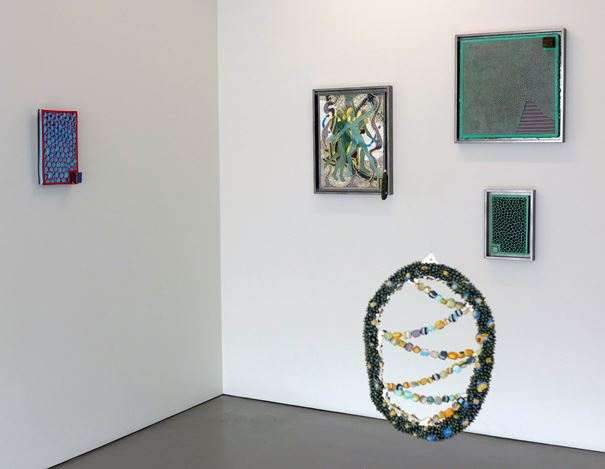 Exhibition view: Rohan Wealleans, We are the flesh, Hamish McKay Gallery, Wellington (16 September–7 October 2017). Courtesy Hamish McKay Gallery, Wellington.