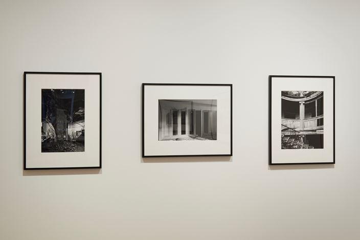 Exhibition view: Ryuji Miyamoto, Architectural Apocalypse,Taka Ishii Photography / Film, Tokyo (11 May–15 June 2019).© Ryuji Miyamoto.Courtesy Taka Ishii Photography / Film.