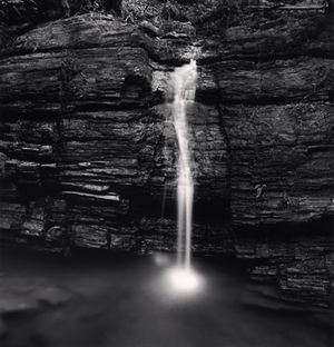 Waterfall by Michael Kenna contemporary artwork