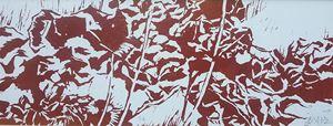 Red Hydrangea II by Yu Jen-chih contemporary artwork