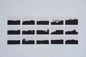 Sur un horizon infini se joue le theatre de nos affections by Joël Andrianomearisoa contemporary artwork