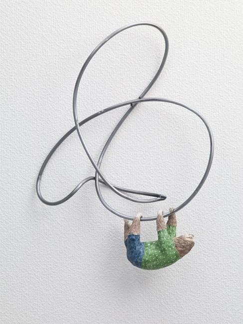Hang down, Sloth by Kaori Yoshikawa contemporary artwork