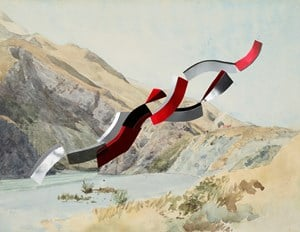 Waiau River (Richmond, Severini) by Kate Woods contemporary artwork