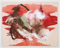 Once Swaddled Ever so Gently by Elizabeth Neel contemporary artwork painting