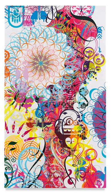 Mindscape 44 by Ryan McGinness contemporary artwork