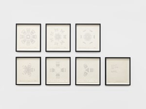 1 Set of Snowflakes by Barbara T. Smith contemporary artwork