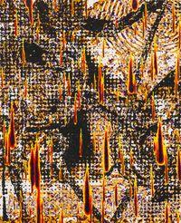 Elefantendisko by Martin Groß contemporary artwork painting, works on paper