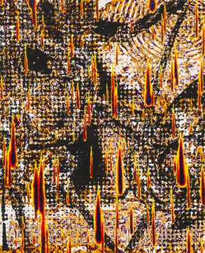 Elefantendisko by Martin Groß contemporary artwork