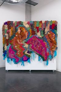 A joy so fierce by Suchitra Mattai contemporary artwork mixed media
