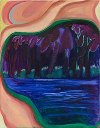 Silver Lining by Shara Hughes contemporary artwork painting