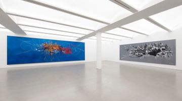 Contemporary art exhibition, Georges Mathieu, Georges Mathieu at Perrotin, New York, USA