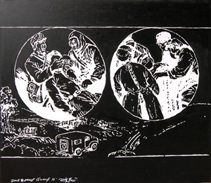Untitled 无题 by Wang Guangyi contemporary artwork