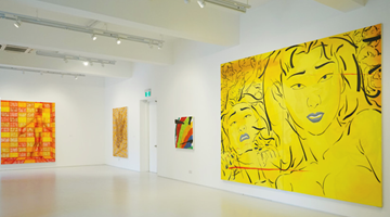 Contemporary art exhibition, Pu Jie , Two Different Times, One World at ShanghART, Singapore