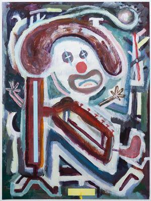 Clown Music by Simon Blau contemporary artwork