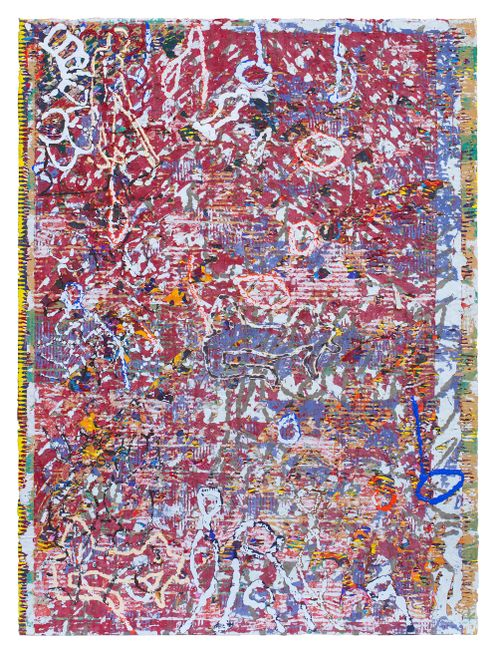 De Centenas de Correntes Eu me Liberto mas Não da Trança de Cabelo do Meu Amor by Rui Miguel Leitao Ferreira contemporary artwork