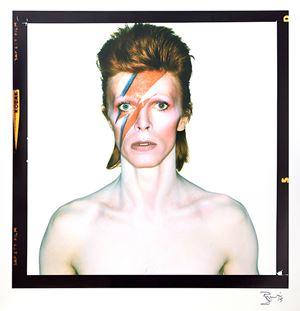 David Bowie As 'Aladdin Sane' by Brian Duffy contemporary artwork