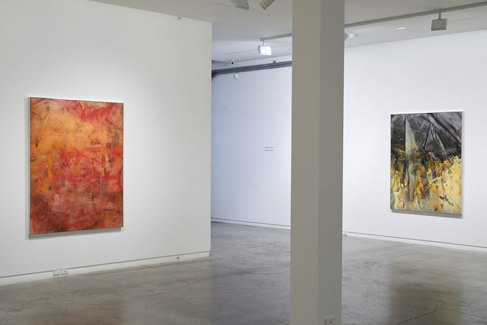 Exhibition view: Matt Arbuckle, Reading Hands, Two Rooms, Auckland (22 May–18 July 2020). Courtesy Two Rooms, Auckland.
