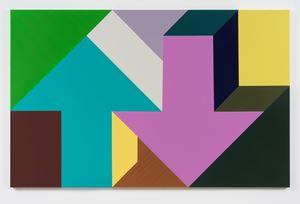 Arrow Painting 65 by Tony Tasset contemporary artwork